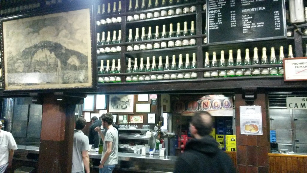 Casa Mingo by Naked Madrid best cider house in madrid