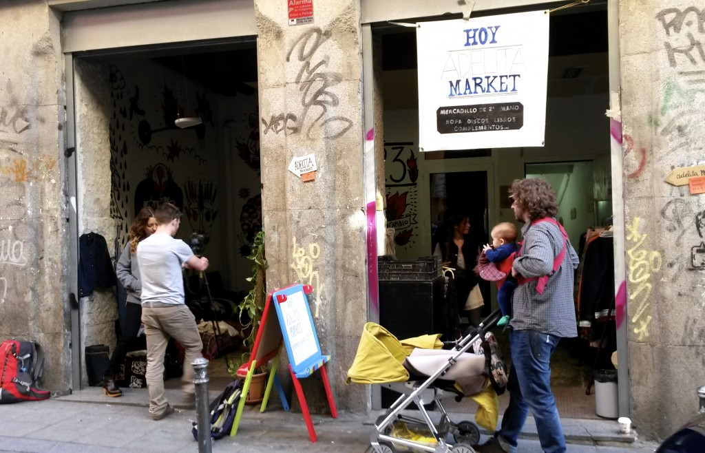 Adelita Market second hand monthly market in Madrid by Naked Madrid