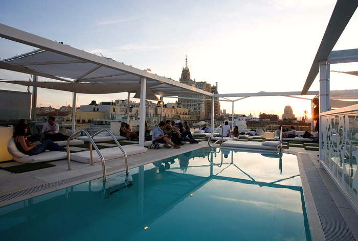best rooftop Hotel Oscar madrid