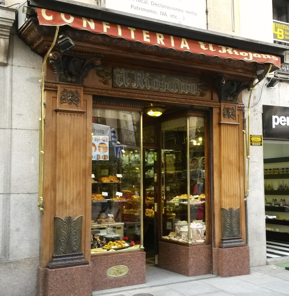 El riojano madrid 39 s best pastry shop is right in the - The body shop madrid ...