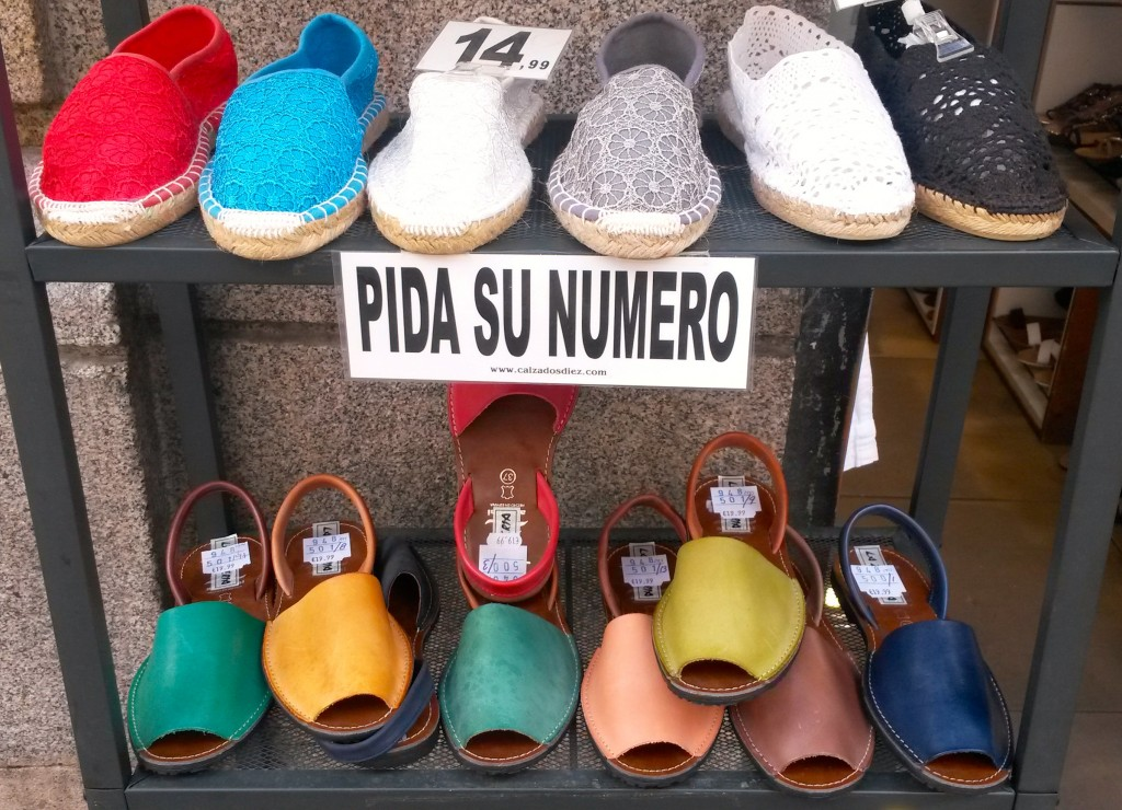 Best gift ideas in Madrid, Spanish Spanish shoes