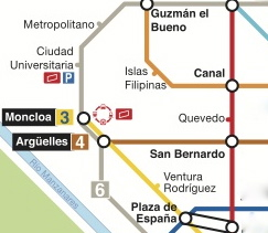 metro map madrid
